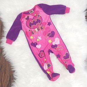 Batgirl Baby Girl Pink & Purple PJ Slaps size 3-6m